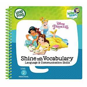 Disney Princess Vocalulary Activity Book 3D