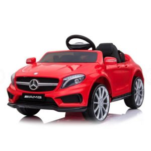 Electric Kids Ride On Car MERCEDES BENZ Licensed Car Battery Remote Control Red