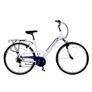 Basis Dorchester 6sp 36V Electric Bike with Integrated Battery
