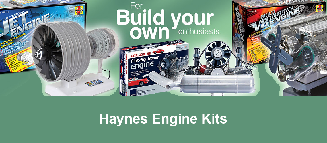 Haynes build your own kits